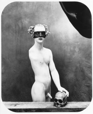 FOTOMUSEUM WINTERTHUR : DARKSIDE – Fotografische Begierde und fotografierte Sexualität - Joël Peter Witkin : Portrait as a Vanité, New Mexico, 1994 (Porträt als Vanitas) Silbergelatine-Abzug, 94 x 80 cm ; Courtesy of Galerie Baudoin Lebon, Paris