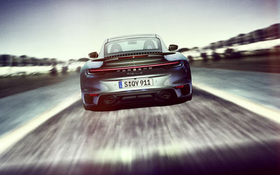IGOR PANITZ: Porsche 992 Turbo for Christophorus Magazine