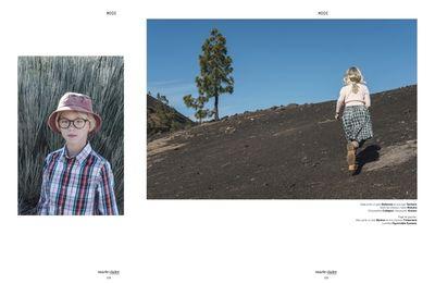 WILDFOX RUNNING: Feli&Pepita for Marie Claire Enfants with 'zaï zaï zaï zaï' on Tenerife