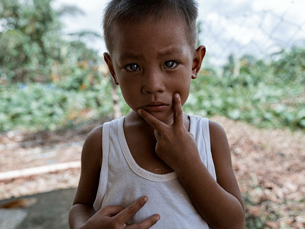 "FARIYAL KENNEL: CHRIS DODD ""CHILDREN OF TACLOBAN"""