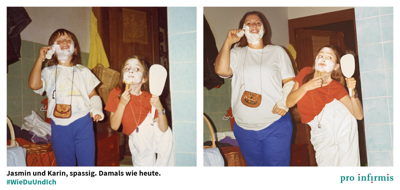UPFRONT PHOTO & FILM GMBH: Jonathan Heyer for Pro Infirmis