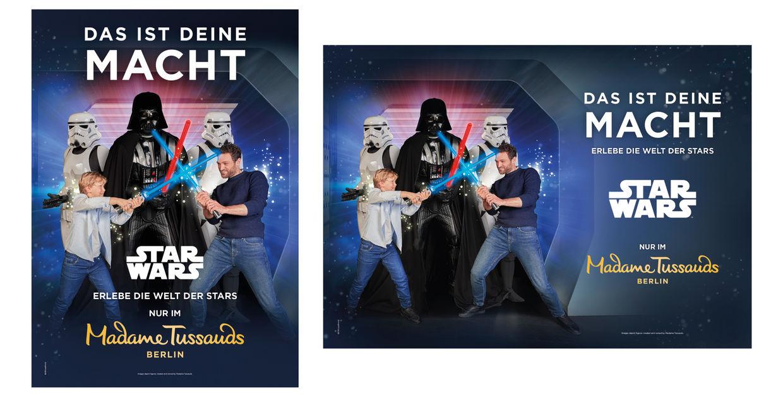 OFFENBLENDE: Daniel für Madame Tussauds