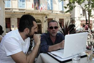 KEHRER VERLAG : Nicola Lo Calzo und Klaus Kehrer in Arles