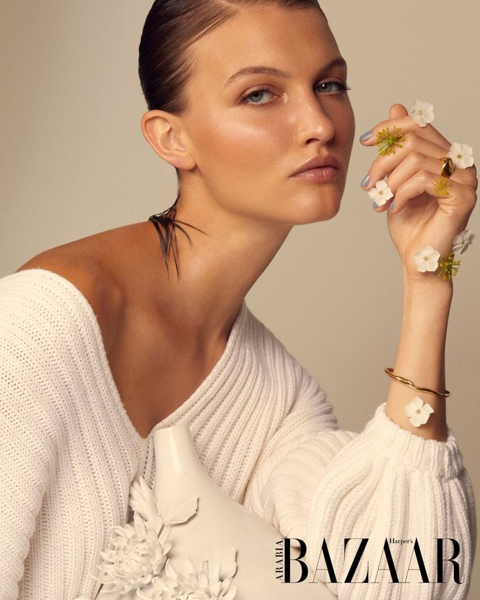 COSMOPOLA GMBH / Hello Beauty! FRAUKE FISCHER for Harpers Bazaar