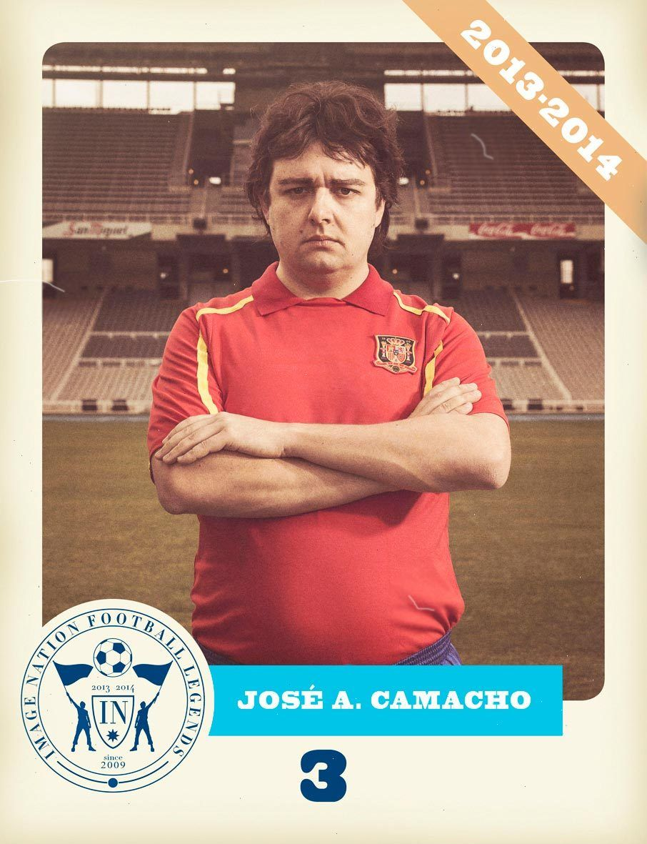 IMAGE NATION FOOTBALL LEGENDS BY CARLES CARABÍ