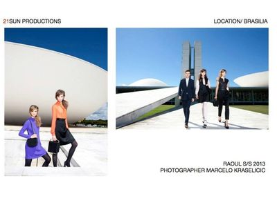 21 SUN PRODUCTIONS for RAOUL S/S 2013