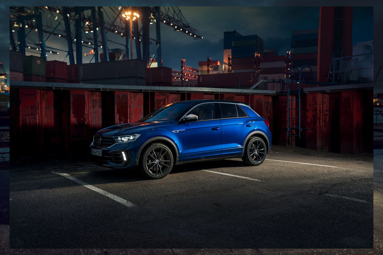THOMAS SCHORN – VW T-ROC R AT THE DOCKSIDE   CLIENT - VOLKSWAGEN   AGENCY - GRABARZ & PARTNER   REPRESENTED BY BANRAP
