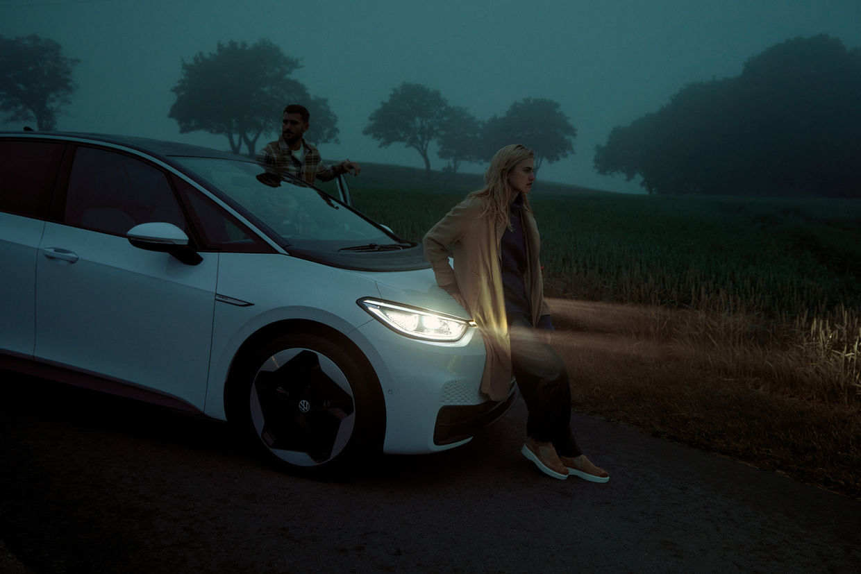 WILDFOX RUNNING: David Daub for VW ID.3