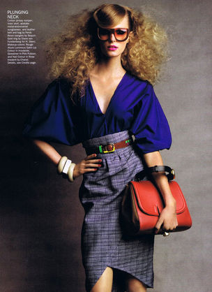 MUNICH MODELS : SIGRID Agren for ALLURE