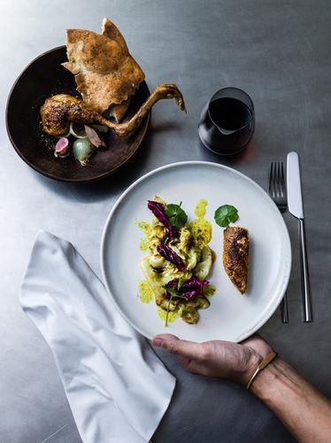 AGENT BAUER: Fabian BJÖRNSTJERNA & Linda LUNDGREN for Gourmet