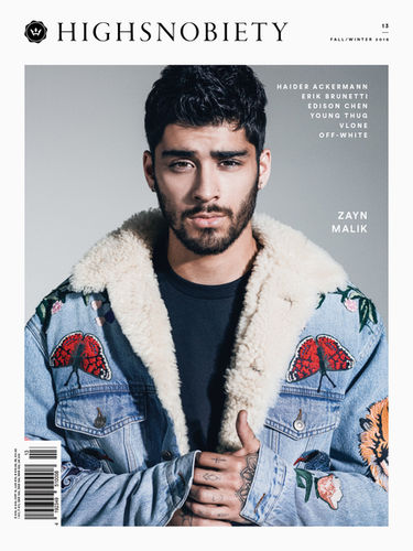 ZAYN MALIK FOR HIGHSNOBIETY BY ROBERT WUNSCH