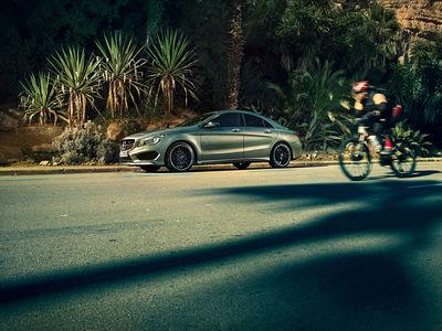 GQ Mercedes Benz CLA