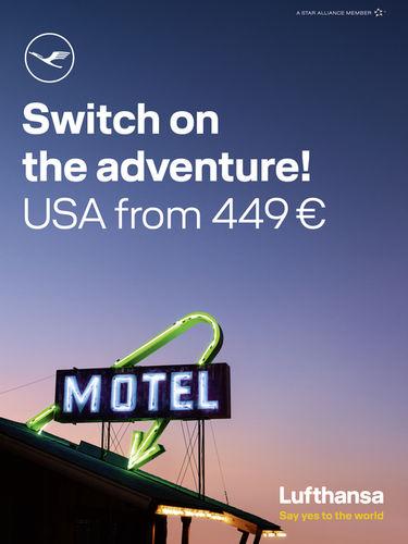 GLAM PRODUCTION produced latest Lufthansa USA campaign