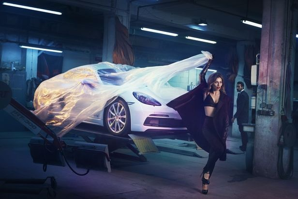COSMOPOLA GMBH / Porsche goes LA! We are in the official selection of LA Fashion Festival!  Concept, Creative Direction & Production by ALEXANDRA KINGA FEKETE and Thorsten Osterberger
