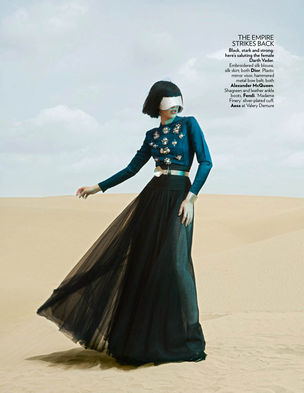 ANIMA CREATIVE  MANAGEMENT : Emily WALKER for VOGUE INDIA