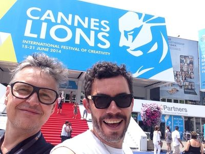 GOSEE CANNES LIONS 2014 with ROLF SCHEIDER
