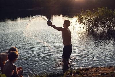 MATTHIAS WEHOFSKY, At the Lake