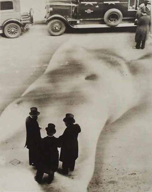 Die üble Nachrede, 1932, Copyright Heinz Hajek-Halke und CHAUSSEE 36