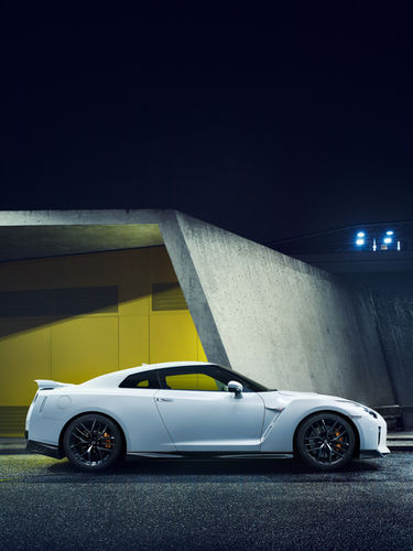 GT-R for ramp in Berlin