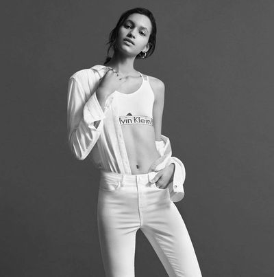 MUNICH MODELS: Hanne LINHARES for CALVIN KLEIN