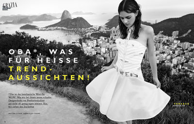 BIRGIT STöVER : Tina LUTHER for grazia