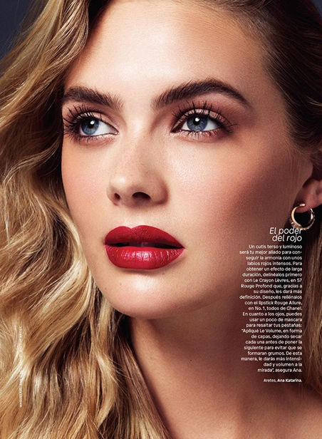 Megan Williams for Glamour Mexico shot by Stockton Johnson