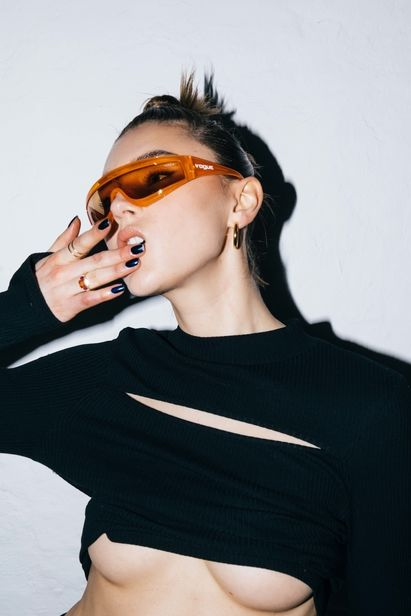 STEPHIE BRAUN c/o BOSCH to BANRAP for nu-in Editorial with Stefanie Giesinger