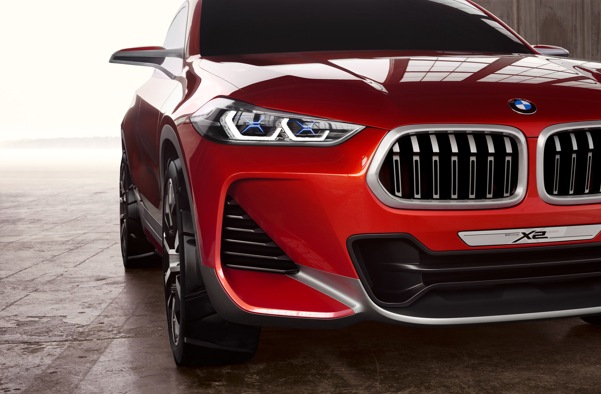 RGBERLIN: The BMW Concept X2 for Studio Amos Fricke