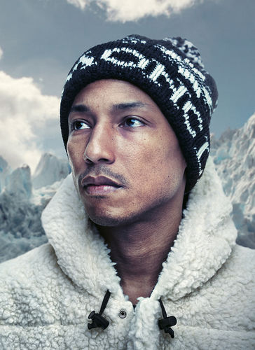 Pharrell Williams for Highsnobiety by ROBERT WUNSCH