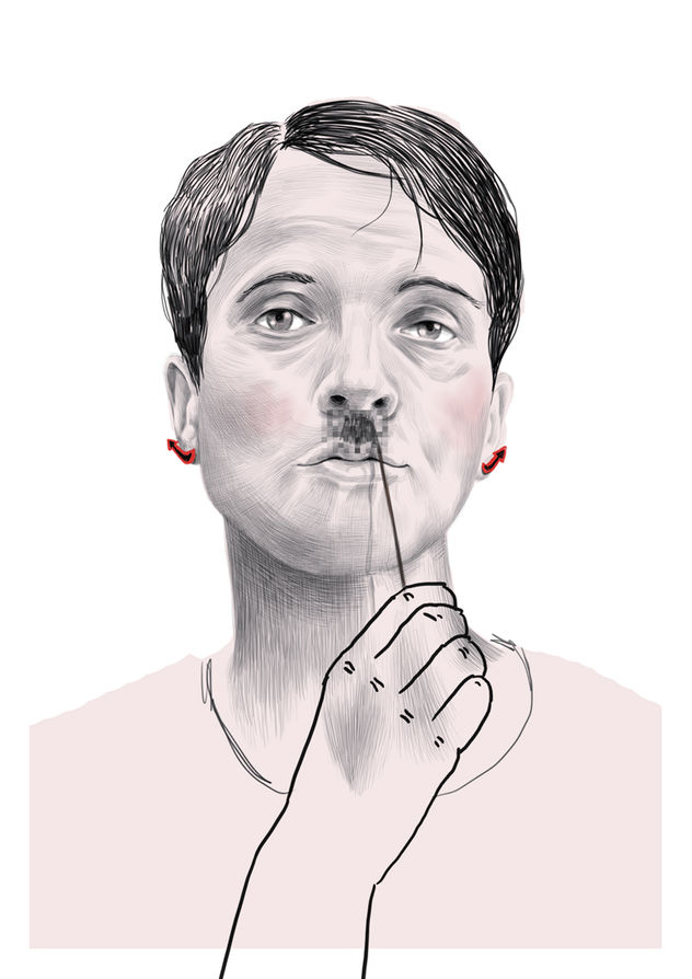 WILDFOX RUNNING: Sören Kunz with free political drawings