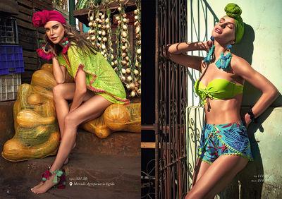 HM Nina Tatavitto for La Playa campaign Cuba 2018 shot by Cintia Barroso Alexander