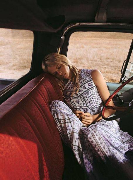 PATRICIA MCMAHON : Grant Thomas shoots 'Big Country' for Stylist Magazine 'TheFashionIssue'