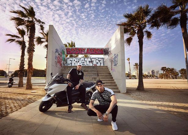 "BIRGIT STöVER: PASCAL KEROUCHE for ""PALMEN AUS PLASTIK 2"" Bonez MC & Raf Camora"