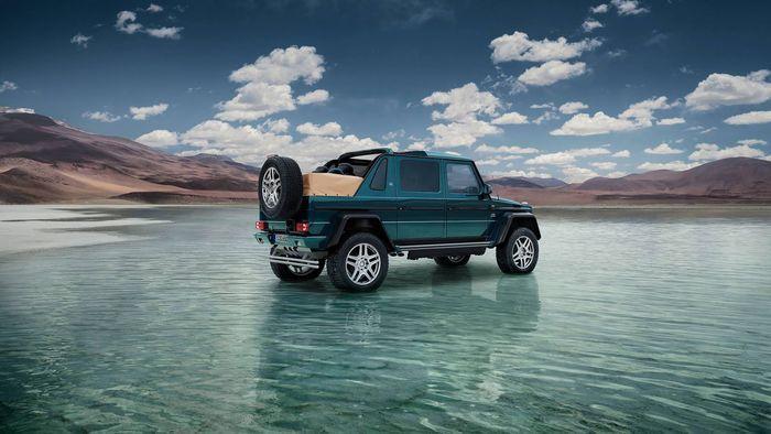 HARVEST DIGITAL AGRICULTURE : Mercedes-Maybach G650