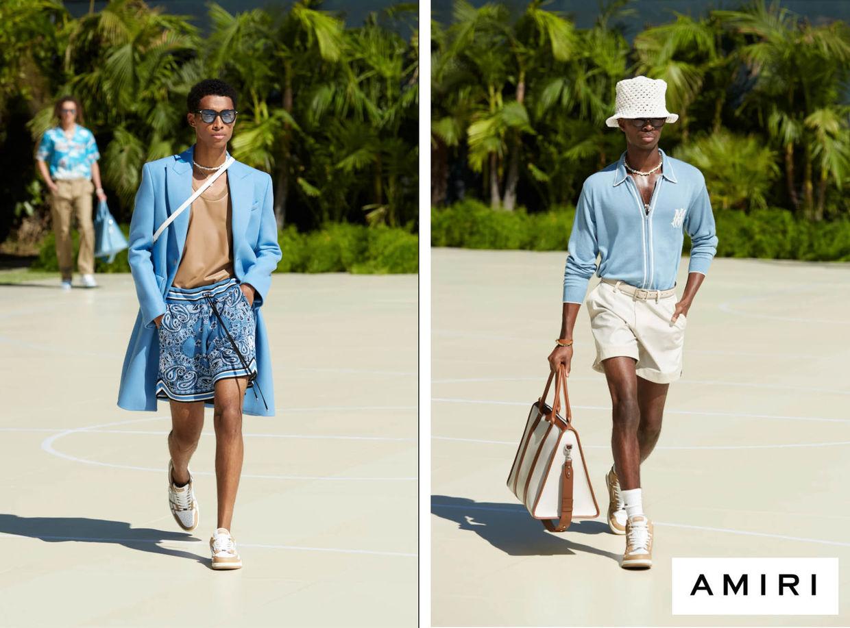 ALYSSA PIZER MANAGEMENT: Amiri Spring 2021 Menswear Fashion Show By Mathilde Bresson