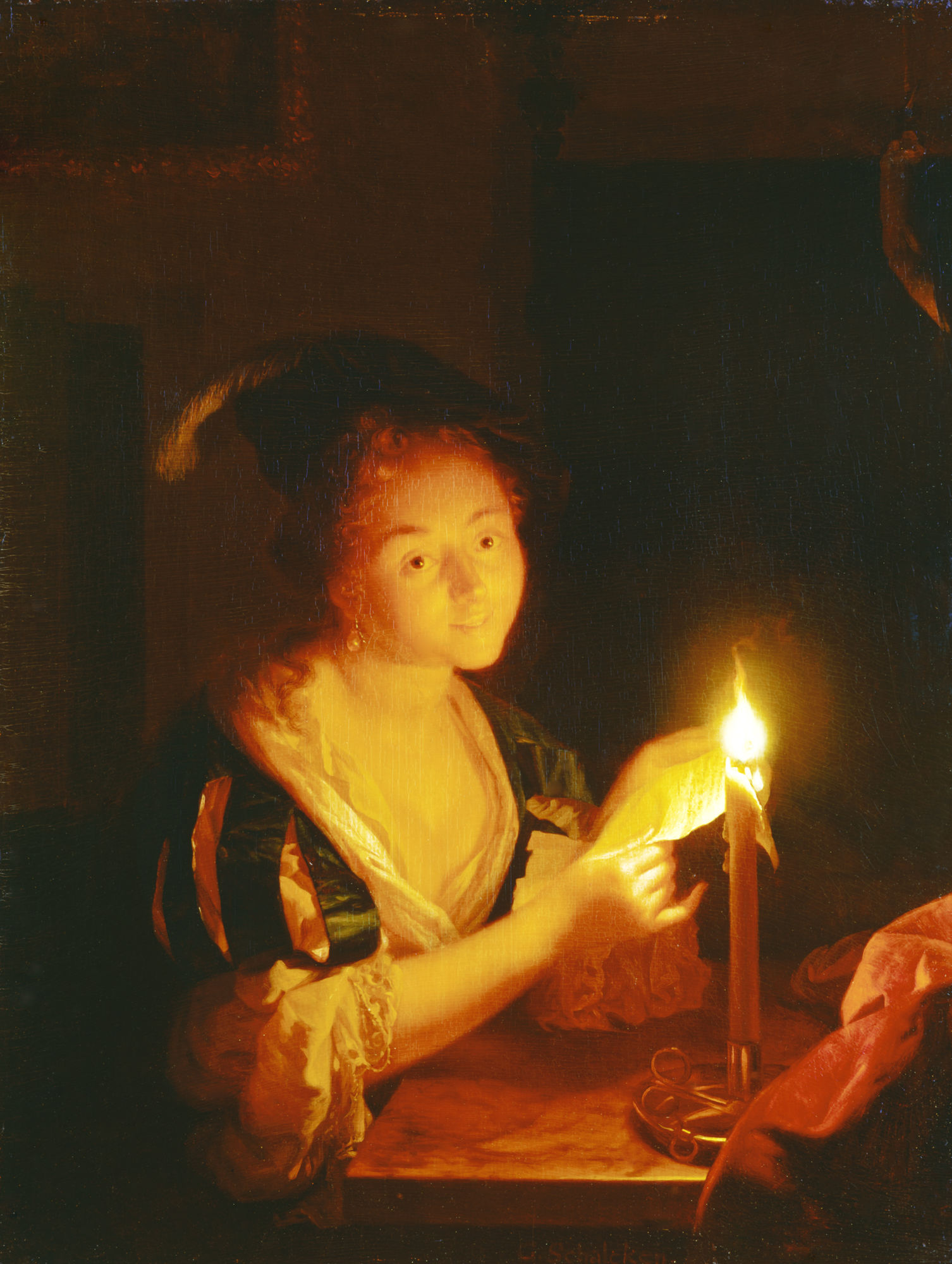 MARSIL - Wallraf-Richartz-Museum & Fondation Corboud featuring painter Godefridus Schalcken
