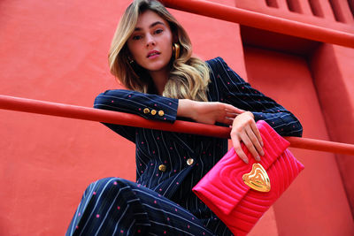 Stefan Dotter c/o TAKE Agency shoots the latest ESCADA SS19 campaign