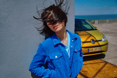 WILDFOX RUNNING: David Daub for VW with new e-up!