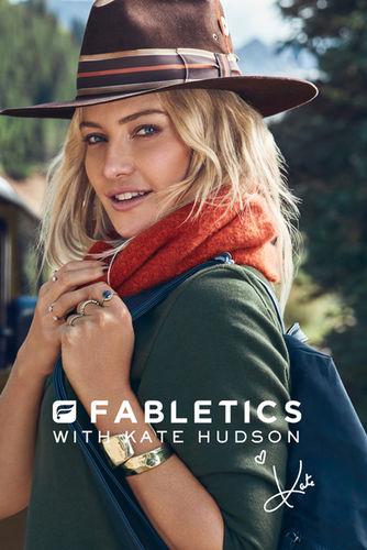 HUNTER & GATTI : FABLETICS with KATE HUDSON