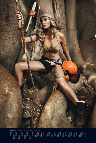 RETOUCHED for STIHL CALENDAR