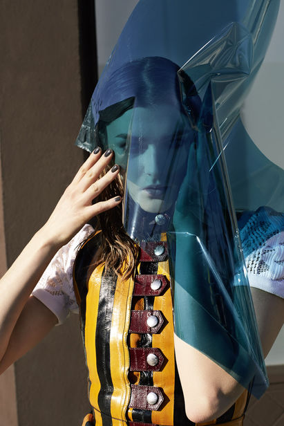 'It's hard to be ashamed in the city' UWE DUETTMANN for Vogue Italia