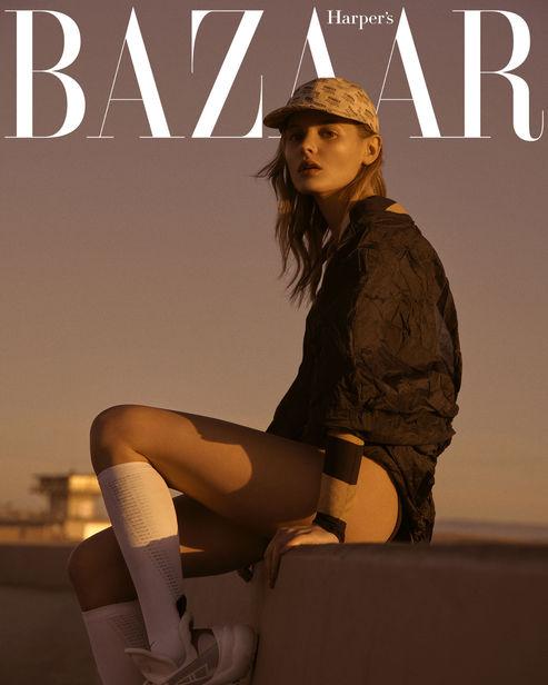RETUSH CREATIVE RETOUCHING: Harper's Bazaar CZ Calzedonia Special shot by ANDREAS ORTNER