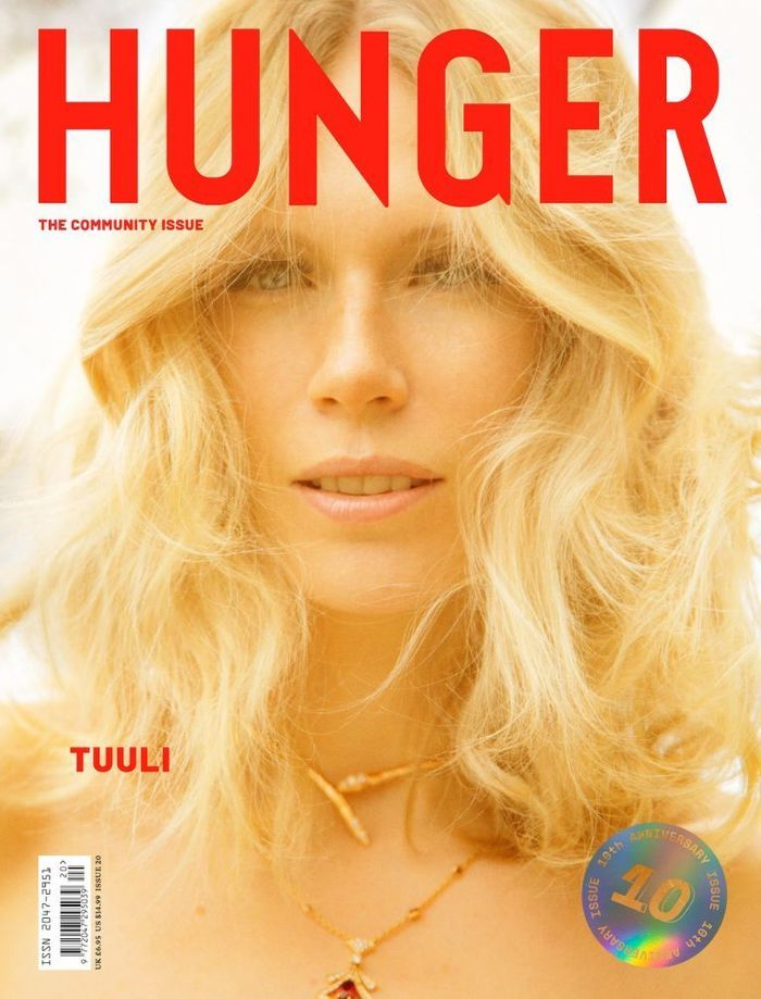 Enter the Garden of Eden with Tuuli, HUNGER's first muse by RANKIN