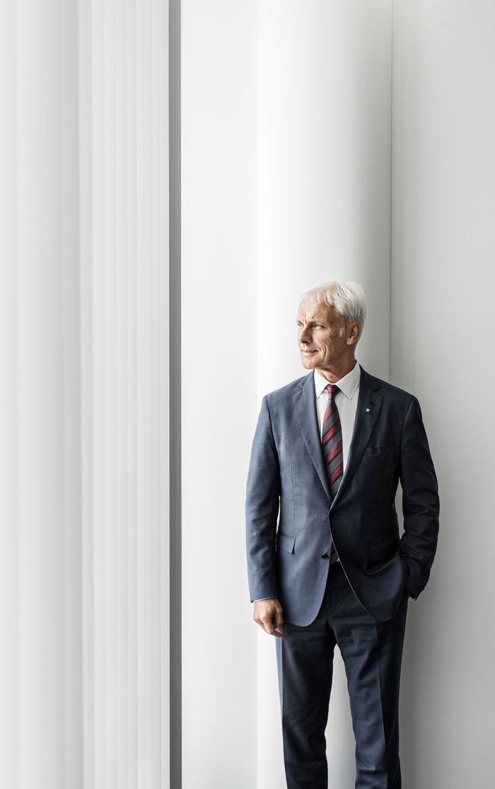 NILS HENDRIK MUELLER, Matthias Müller, Volkswagen AG for Handelsblatt