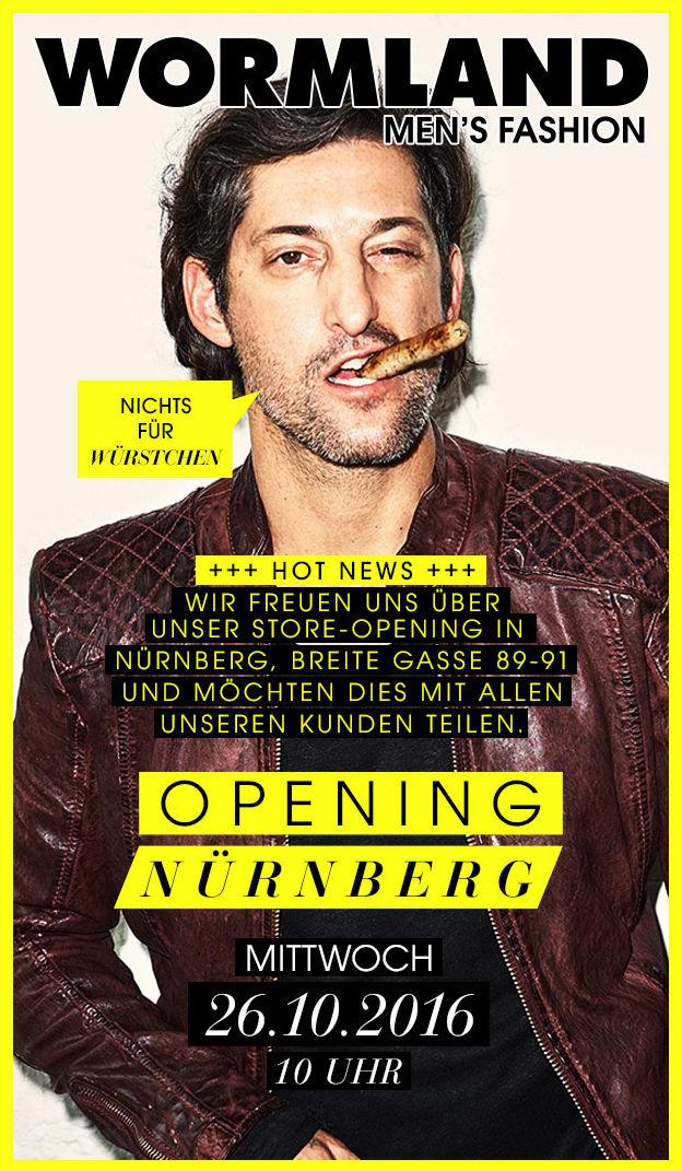 THEO WORMLAND: Store Opening Nürnberg