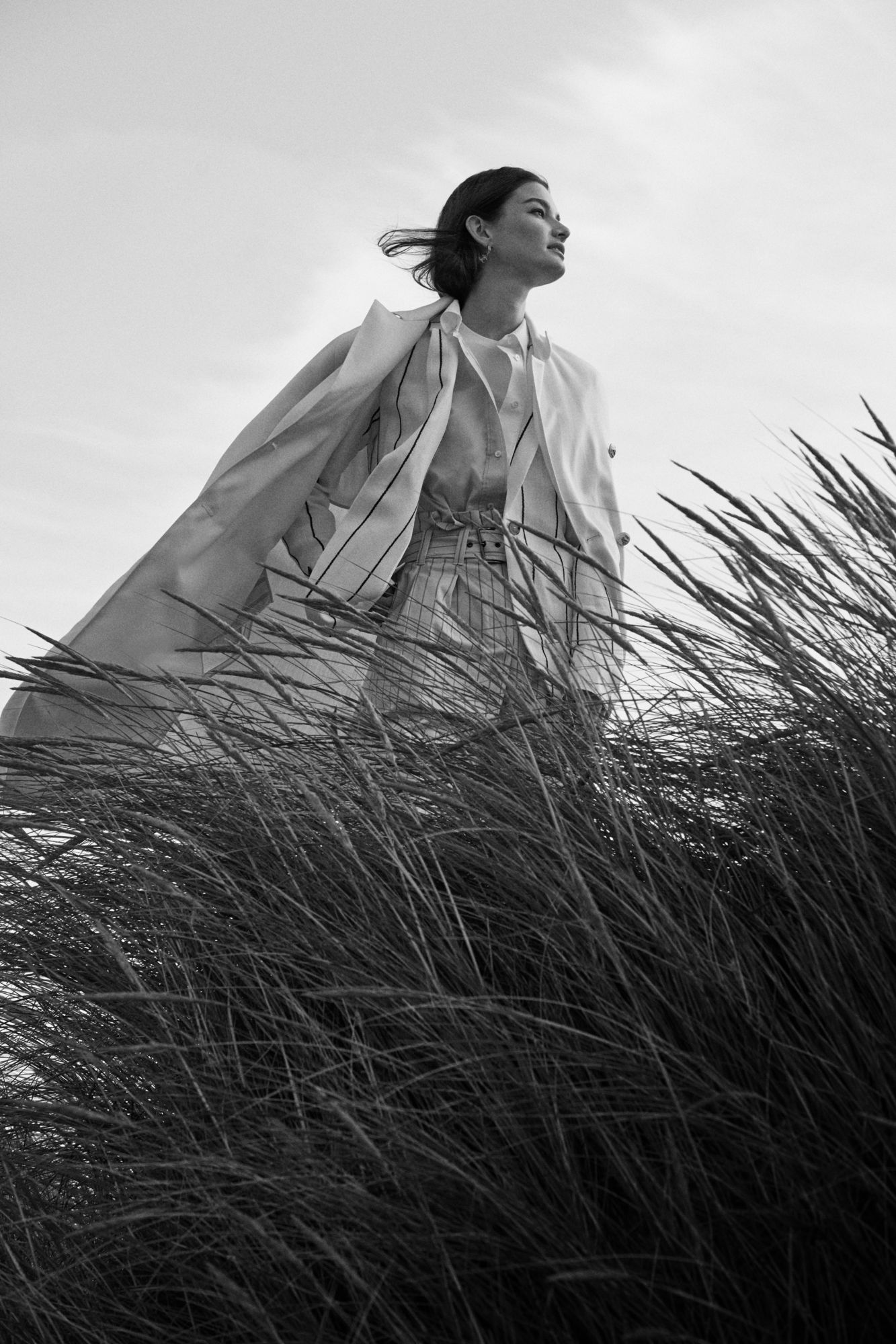 Ophelie Guillermand photographed by Alex Waltl for Elle Germany