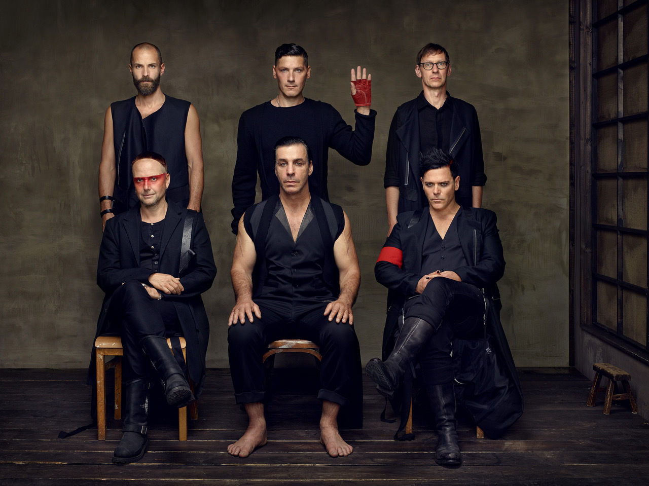 'Rammstein' PR images production by LUNIK GMBH