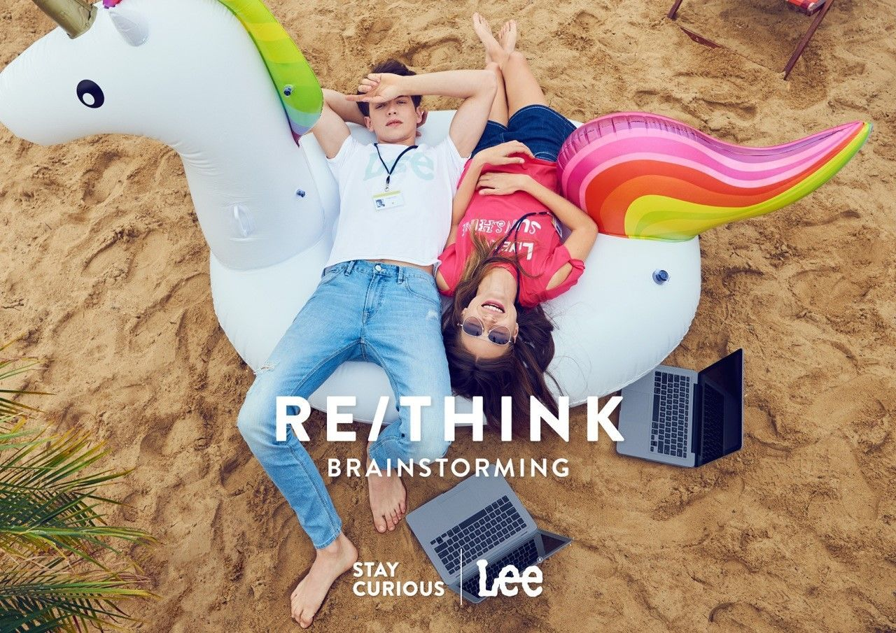 THE SATISFACTION for LEE JEANS Asia spring summer 2017