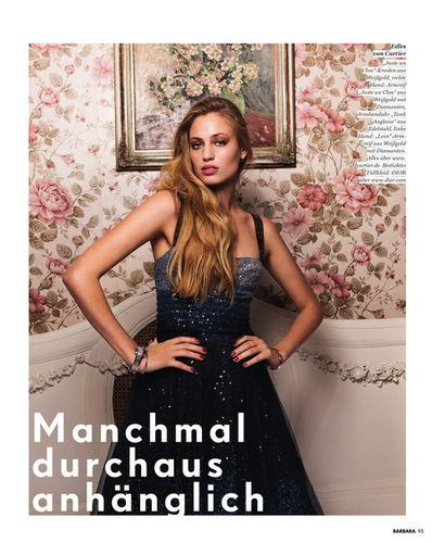 VIVA MODELS : Nadja & Cosima AUERMANN for BARBARA Magazine