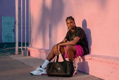 Todd Cole c/o GIANT ARTISTS photographed the latest summer looks for Nike Jordan